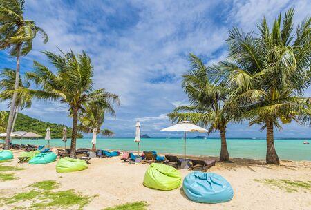 Exotic beach Loh Ssamah Bay at Ko Phi Phi Lee island, Krabi Province, Andaman Sea, Thailand