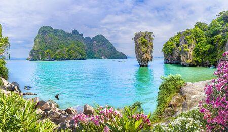 James Bond Island on Phang Nga bay, Thailand Reklamní fotografie
