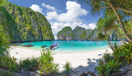 Amazing Maya Bay on Phi Phi Islands, Thailand Zdjęcie Seryjne