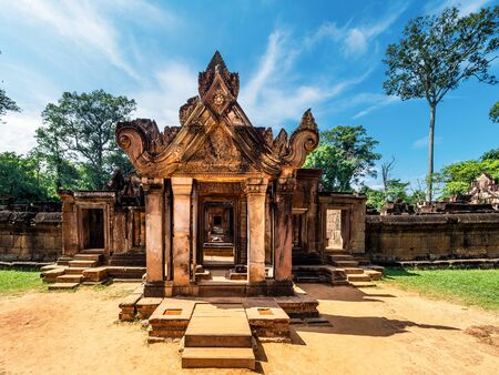 Banteay Srei or Lady Temple, Siem Reap, Cambodia