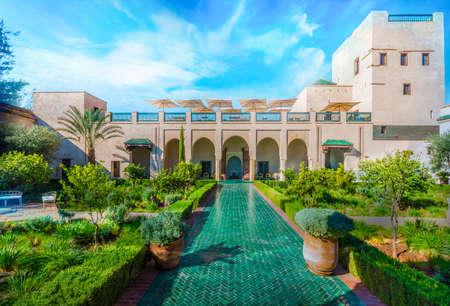Le Jardin Secret, old Madina, Marrakech, Morocco.