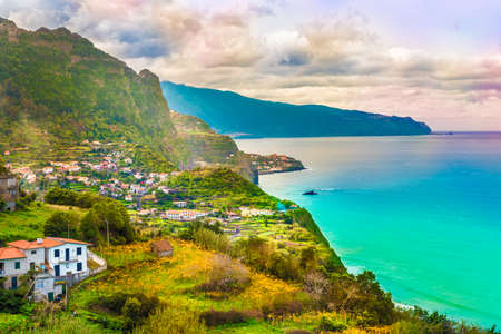 Madeira island, Portugal 免版税图像