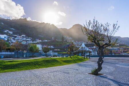 Porto Moniz village at Madeira island, Portugal