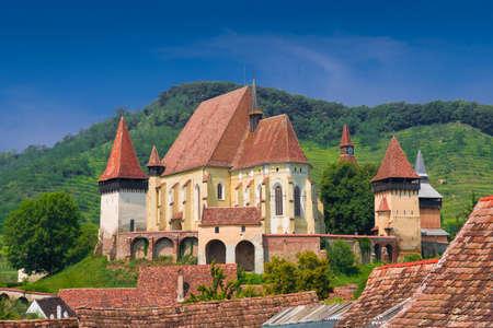 Fortified church Biertan in Transylvania, Romania