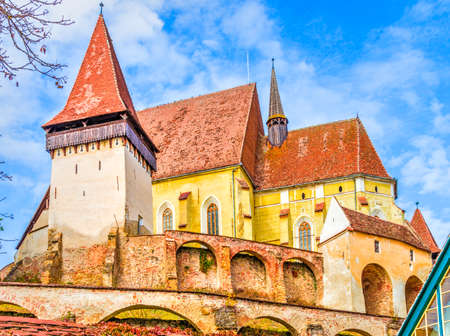 Biertan fortified church, Transylvania, Romania.