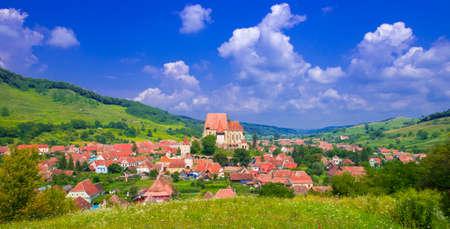 Fortified church Biertan  , Transylvania, Romania