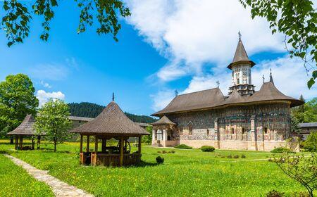 Sucevita orthodox painted monastery, Suceava town, Romania