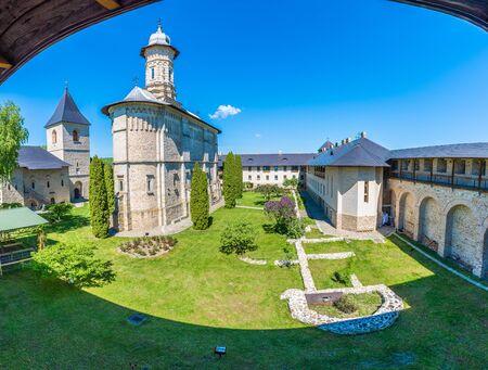 Dragomirna ortodox monastery, Suceava, Bucovina, Romania Stock Photo