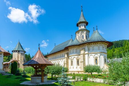 Putna monastery, christian orthodox church, Moldavia, Bucovina, Romania