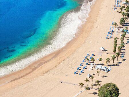 Las teresitas beach, Tenerife, Canary Islands, Spain
