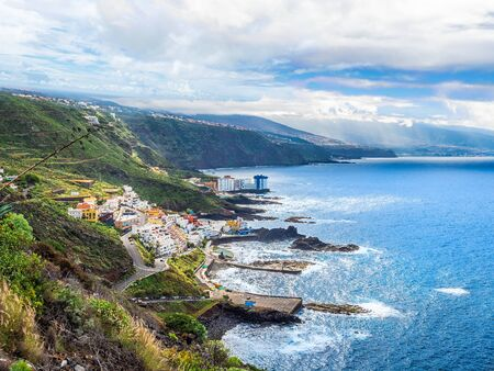 Rural landscape, North coast of Tenerife, Canary Islands, Spain Archivio Fotografico