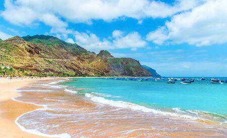 Las teresitas beach, Tenerife, Canary Islands, Spain. Archivio Fotografico