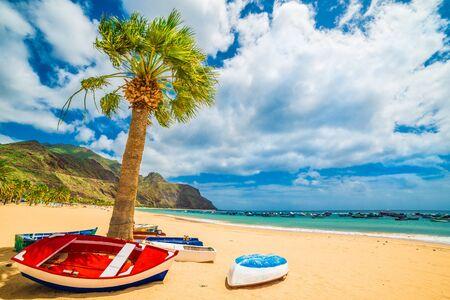 Las teresitas beach in Tenerife, Canary Islands, Spain Archivio Fotografico