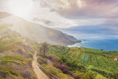 North Tenerife coast, Canary island, Spain