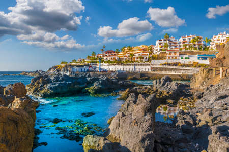 Puerto de Santiago city,  Atlantic Ocean coast, Tenerife, Canary island, Spain
