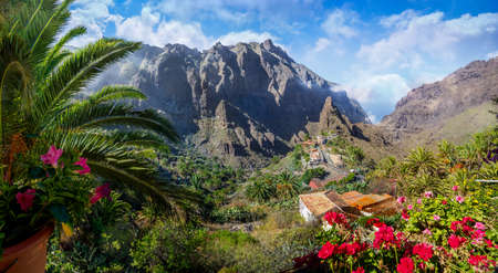 Masca village, the most visited tourist attraction of Tenerife, Spain Stockfoto