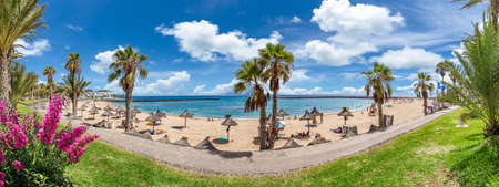 Landscape with Camison beach at Tenerife, Canary islands Stockfoto