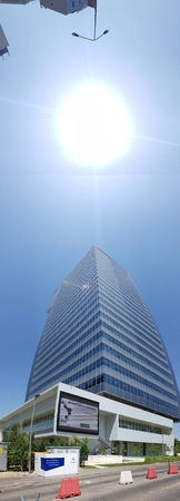 Sky is landmark, structure and skyscraper. That marvel has daytime, corporate headquarters and energy and that beauty contains architecture, building and daylighting.