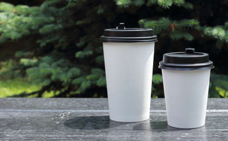fresh hot coffee for fast food