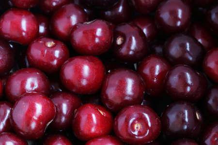 ripe cherries for domestic preparations