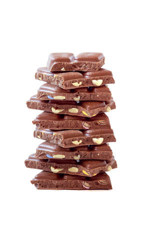 Chocolate as a healthy and delicious dessert Stock Photo