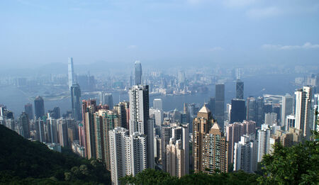 urbanistic: Hong Kong nice vew on the sunny day