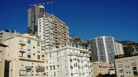 carlo: Beautiful houses in Monaco, Monte Carlo at summer