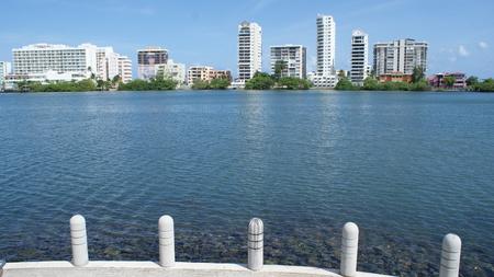 carribean: Beautiful Puerto Rico, fantastic country on Carribean sea