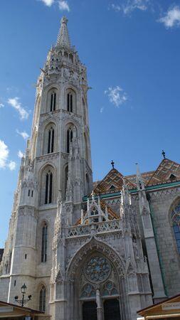 Fantastic gothic architecture of Budapest city, Hungary