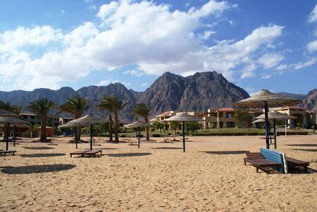 monte sinai: Relax vacaciones en Taba y Sharm-el-Sheikh, Egipto Foto de archivo