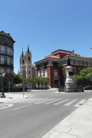 Beautiful sunny Madrid, Capital of Spain, Europe