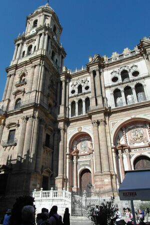 Malaga, beautiful city in the south of Spain, Costa del Sol