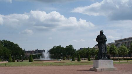 wind down: Nice city Metz in the east of France