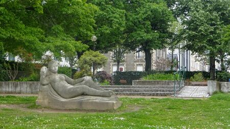 French city Limoges, very calm, beautiful, green and with love to the own history. Architecture and green.