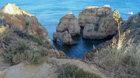Lagos is an amazing resort on Algarve coast, Portugal, Rocks and beaches