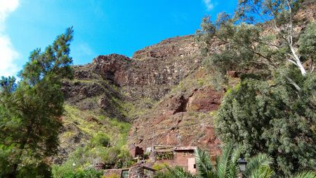 Beauty of Gran Canaria - one of Canarian islands, Spain. Amazing nature and nice cities of the island are so impressive! Stockfoto