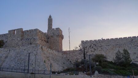 The stunning ancient city of Jerusalem. Pilgrims from all over the world come here to see the sacred relics