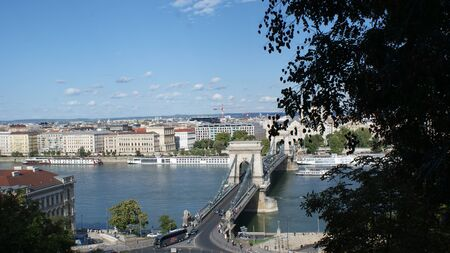 Stunning architecture of Budapest. Amazing streets, old buildings and a lovely atmosphere. An inexpensive and very beautiful Hungarian city.