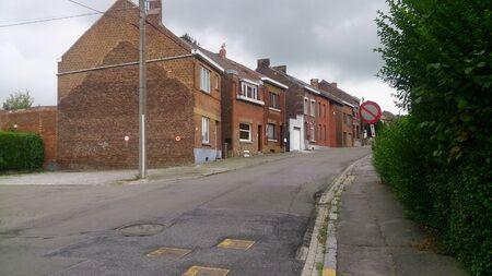 La ville belge de Charleroi. Situé près de l'aéroport populaire. C'est un bel endroit! Banque d'images