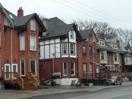 Beautiful Toronto, Ontario. Architecture, old and new buildings, wonderful views in the spring.