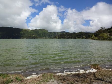 Beautiful nature, wonderful water, wonderful island of San Miguel