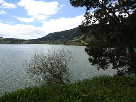 Lake Furnash is a gem of the Azores. Beautiful nature, wonderful water, wonderful island of San Miguel