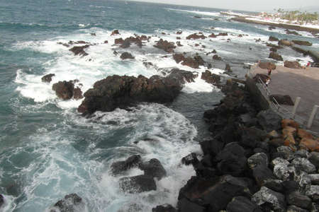 Canary Islands, Tenerife. It belongs to Spain, but has a completely different nature and wonderful architecture.