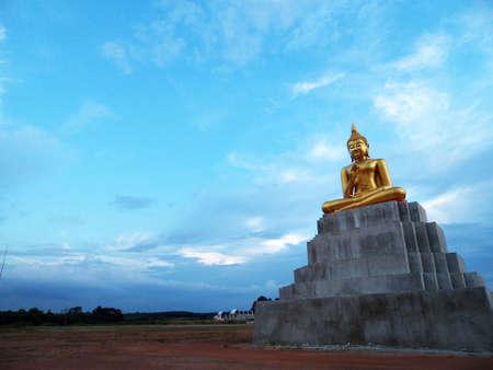 bouddha: L'image de Bouddha en Tha�lande Banque d'images