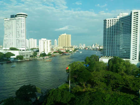 praya: Chao Praya River through the looking glass Editorial