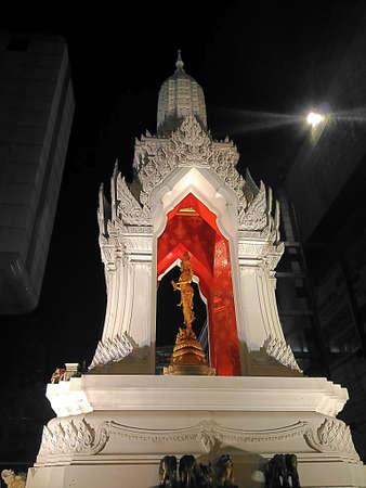 trimurti: Trimurti at central world in Thailand Stock Photo