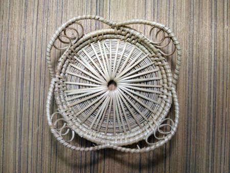 rattan mat: Glass mat made of rattan
