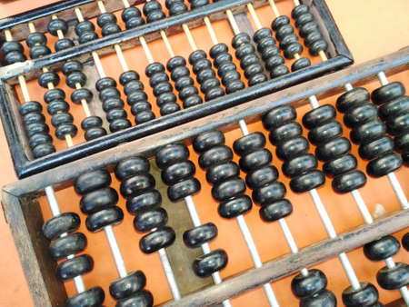 an abacus: Old abacus Stock Photo