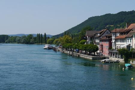 stein: Switzerland rhine river stein am rhein
