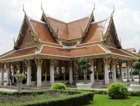 bangkok city: Thailand Bangkok city panorama asian culture temple